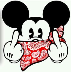 Mickey BaNgiN That RED