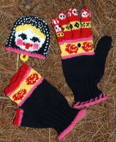 Free knitting patterns for adult gloves and mittens. Make a pair of mittens for yourself and another as a gift. Mittens Pattern, Knit Mittens, Knitted Gloves, Fingerless Gloves, Knitting Patterns Free, Free Knitting, Free Pattern, Fun Patterns, Wrist Warmers