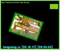 Small Backyard Chicken Coop Designs 095424 - The Best Image Search