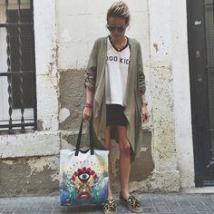 BLANCA MIRÓ SCRIMIERI @blancamiro Today wearing new...Instagram photo | Websta (Webstagram)