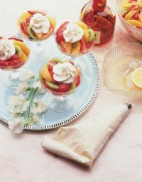 Easter fruit salads