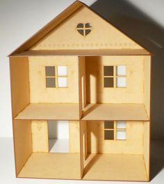 Casa de muñecas Ideal para Legos y Playmobil Laser Vekta. Buenos Aires, Argentina. Contacto: laservekta@gmail.com