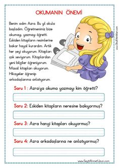 Turkish Lessons, Picture Composition, Learn Turkish, Turkish Language, Classroom Rules, Reading Passages, Primary School, Learn English, Montessori