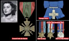 Medals awarded to beautiful British spy for sale