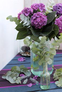 Criativa com Flores- # 22-Pink Hydrangea e Primavera e Verão Eucalyptus-Ingrid Henningsson-Of