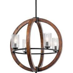 wood chandelier - Google Search