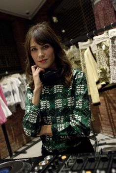 Alexa Chung at Pair of Parties Fete Marni Fragrance Launch in N.Y.
