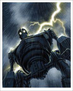 The Iron Giant (Rain) by Jason Edmiston