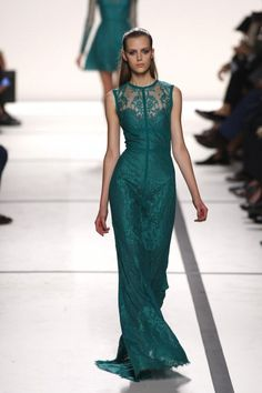Lovely Elie Saab SS14, Paris Fashion Week