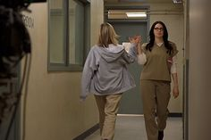 Laura Prepon and Taylor Schilling - OITNB
