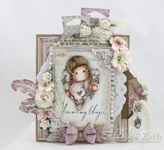 Cards by Camilla: A romantic Magnolia card ♥