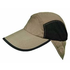 Panama Jack Men s Fishing Cap With Sun Shield (Black One Size) Fish Man 9cba1e4fa253