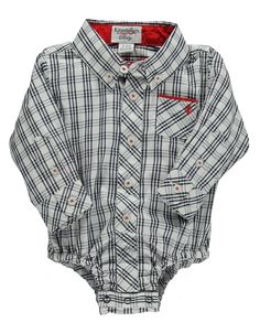 Kids'   Newborn Boys 0-9 Months   Newborn Boys 0-9 Months Cotton Plaid Bodysuit   Lord and Taylor