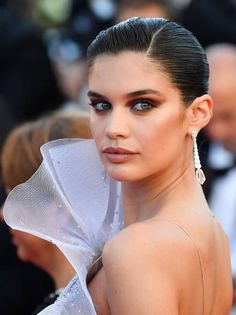 Portuguese model Sara Sampaio arrives on May 20 2017 for the screening of the film '120 Beats Per Minute ' at the 70th edition of the Cannes Film...