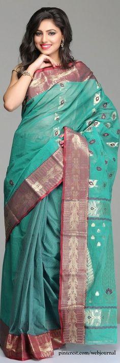 Handwoven Bengal Tant - indiainmybag.com
