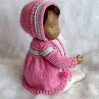 HAND KNITTED OUTFIT  FOR BABY SASHA DOLL
