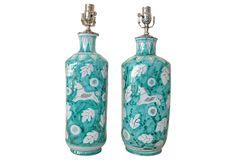 italian ceramic pair