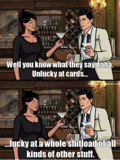 You better call Kenny Loggins, because you're in the danger zone. Archer Tv Show, Archer Fx, Archer Funny, Archer Meme, Sterling Archer, Spy Shows, Kenny Loggins, Danger Zone, Bojack Horseman