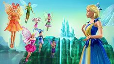 The Fairy Apprentices and the Enchantress << The Enchantress is so pretty!