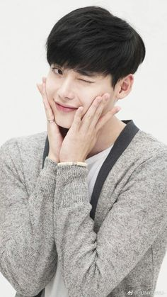 """ You said ""Isn't it a little big"" Jongsuk… Lee Jong Suk Cute, Lee Jung Suk, Lee Jong Hyun, Hyun Woo, Asian Actors, Korean Actors, Korean Actresses, Lee Jong Suk Wallpaper, Kang Chul"