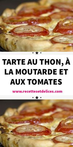 Vegan Breakfast Recipes, Lunch Recipes, Cooking Recipes, Healthy Recipes, French Toast, Tomato Pie, Health Dinner, Lunch To Go, Tuna