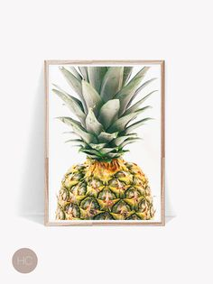 Pineapple Print,Pineapple Poster,Pineapple,Large Pineapple Art,Tropical Photo Print,Kitchen Decor,Pineapple Decor,Pineapple Modern Art,Fruit