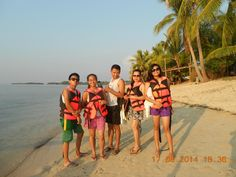 Groupie before the Island Hopping experience.