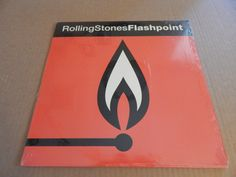 rolling stones flashpoint Vinyl Record LP  by VinylRecordBarn