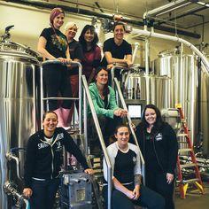 International Women's Collaboration Brew Day at  Stone Brewing World Bistro & Gardens – Liberty Station.