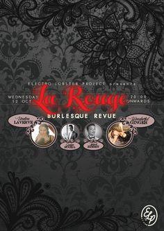 La Rouge Burlesque Revue at Electro Lobster Project | Restaurant | Bar | Lounge | Balluta Bay | Saint Julians | Malta