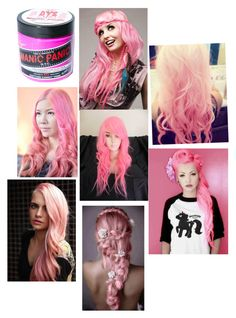 """""""I Got The Hair Dye, Manic Panic"""" by tay-nicole-13 ❤ liked on Polyvore featuring beauty, Manic Panic and Cotton Candy"""