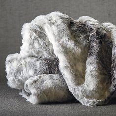 Luxury Faux Fur Throw - Frontgate