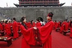 Chinese mass marriage