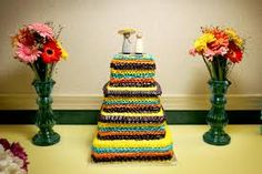 [ Wedding Cake Mexican Fiesta Colorful Ruffle Lexington Ky December 1 ] - Best Free Home Design Idea & Inspiration Wedding Cake Photos, Themed Wedding Cakes, Wedding Cake Designs, Wedding Ideas, Tiffany Blue Cakes, Fiesta Cake, Paper Flowers Wedding, Wedding Topper, Colorful Cakes
