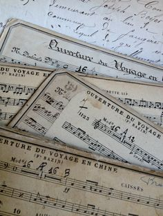 French music cards