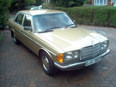 My old Mercedes 280e