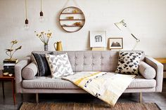 [Decoptips] Decorar con la paleta neutra y matices de color | Decorar tu casa es facilisimo.com