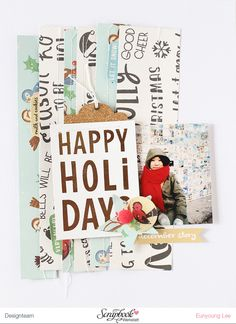 LAYOUT - HAPPY HOLIDAY by EyoungLee at @studio_calico