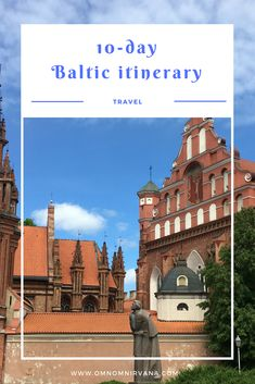 Tick off four unique new countries off The Baltic Sea by following this 10 day Baltic trip itinerary. If you're hoping to see one of the three Baltic countries then a one or two week itinerary is ideal for you. Here's the perfect 10 day Baltic itinerary for anyone who's hoping to see  Lithuania,  Latvia, Estonia and even a bit of Helsinki, Finland.