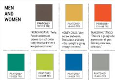 Fall 2012 Colors from Pantone in Wall Street Journal