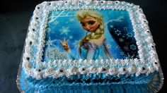 Bolo Frozen com Chantilly