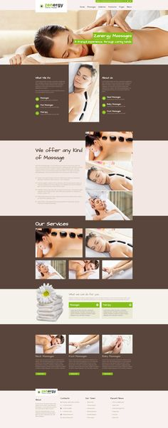 Zenergy is a new & modern Massage WordPress Theme with a unique design.