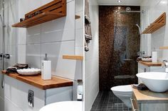 E mais boas idéias para banheiros pequenos