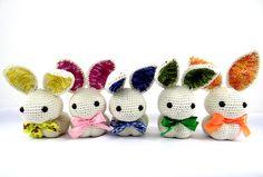 Receita no blog by Sandra Duarte: Coelhinho em Crochê - Amigurumi