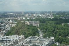 View of Buckingham Palace from The London Eye