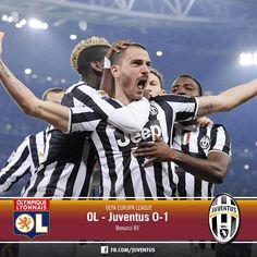 Olympique Lyonnais - Juventus 0-1 (Bonucci)