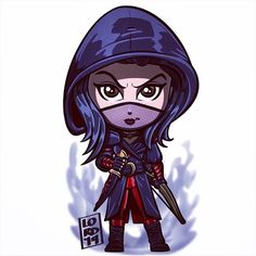 Nyssa Al Ghul!!! by lordmesa_art on tumblr - Visit to grab an amazing super hero shirt now on sale!