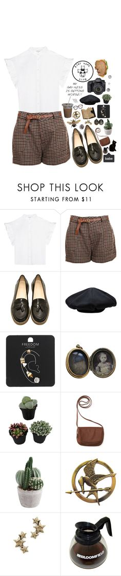 """""""me, an intellectual"""" by kayleeinfinity ❤ liked on Polyvore featuring Iris & Ink, B Store, Eos, Yohji Yamamoto, Topshop, PRIVATE LIVES, Aéropostale and Avant Garde Paris"""