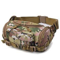Nylon Outdoor Waterproof Tactical Sling Bag Chest Bag Waist Bag Crossbody  Bag is worth buying - 346380f458bf3