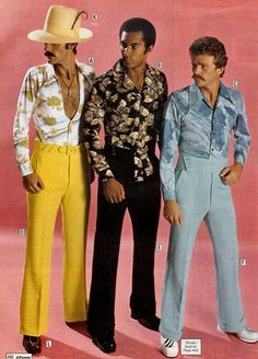 Can you believe that you could buy this stuff from a catalogue? JC Penny from the 70's. Now those are what I call slacks!